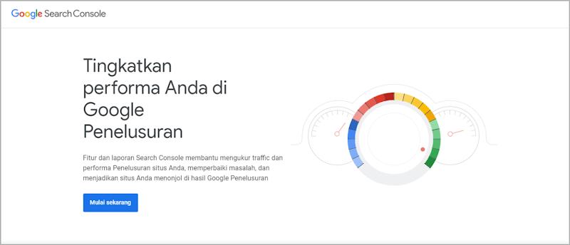 Cara Pertama, Submit URL di Google Search Console