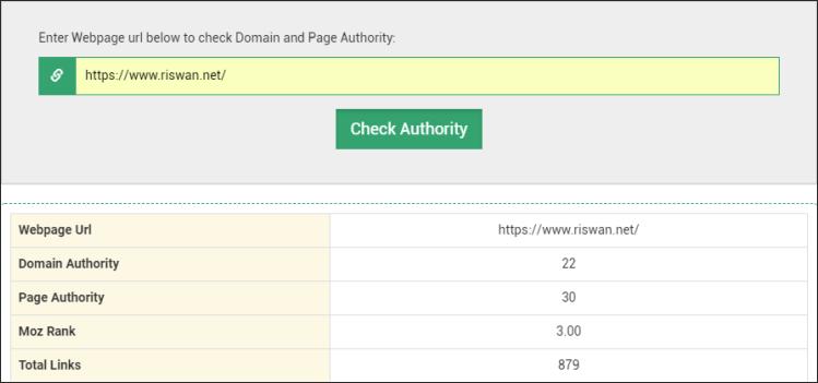 Domain Authority Riswan Net- Kerjasama Content Placement Berkualitas