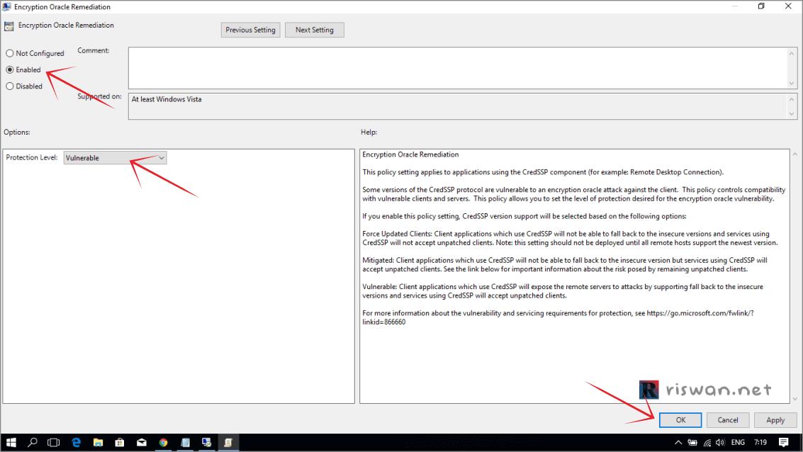 Cara Mengatasi Masalah CredSSP Saat Login ke RDP