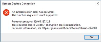 Masalah CredSSP Riswan Net