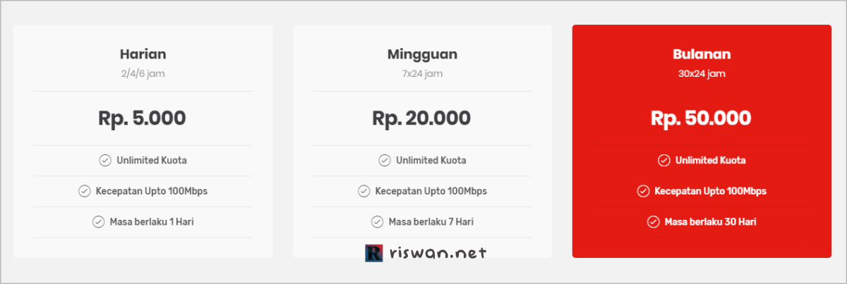 Paket Wifi-id Seamless