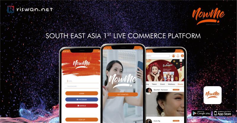NOWME Pelopor Live Commerce Pertama di Indonesia