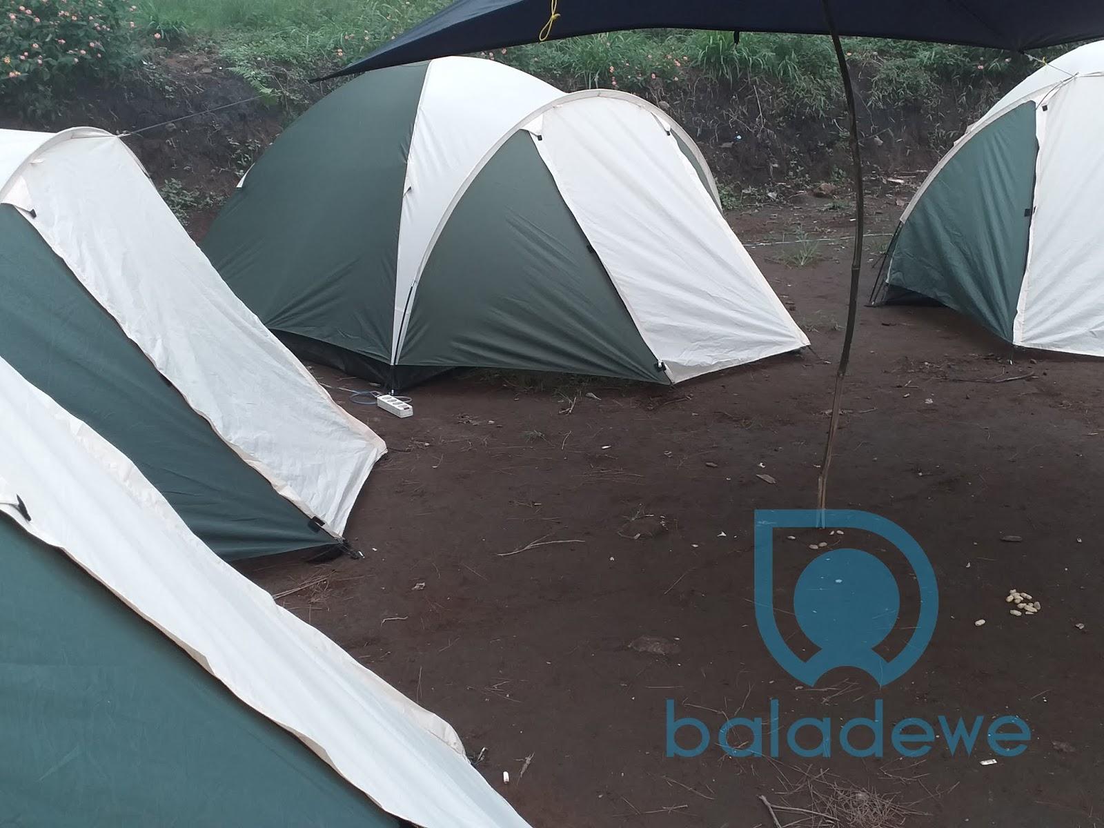 Tenda Dome Kapasitas 4 Orang - Harga Sewa Tenda Camp Mawar Ungaran