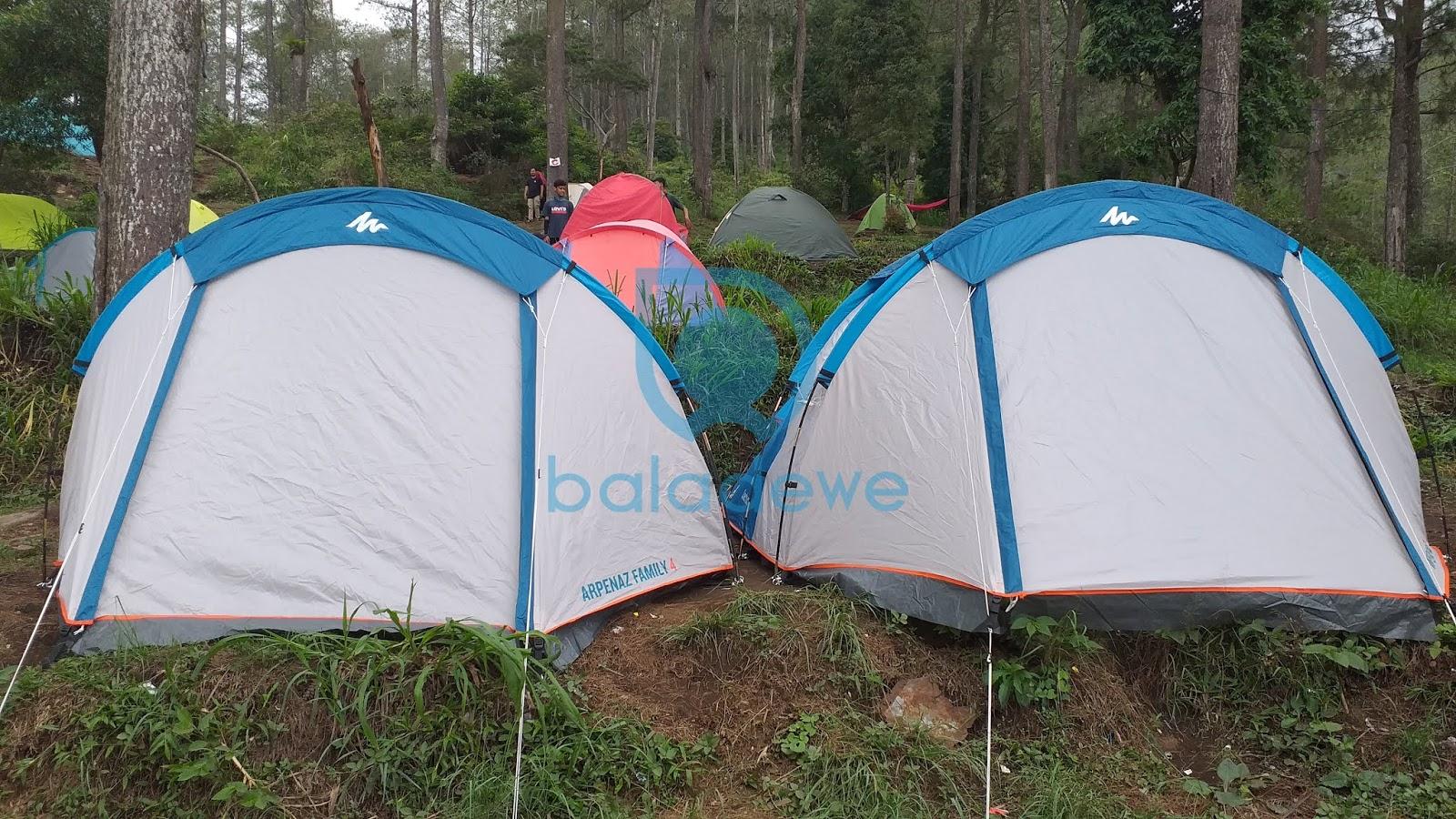 Tenda camping Keluarga