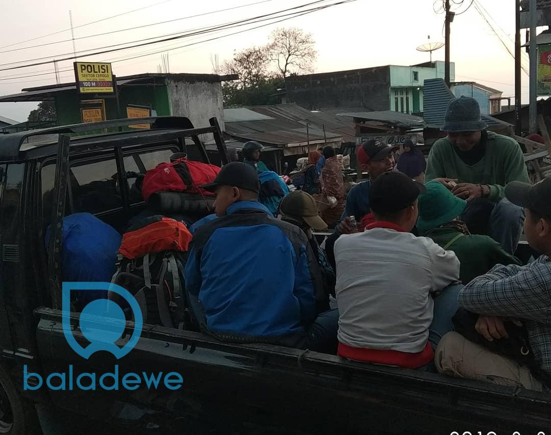 Transportasi dari Jakarta ke Merbabu