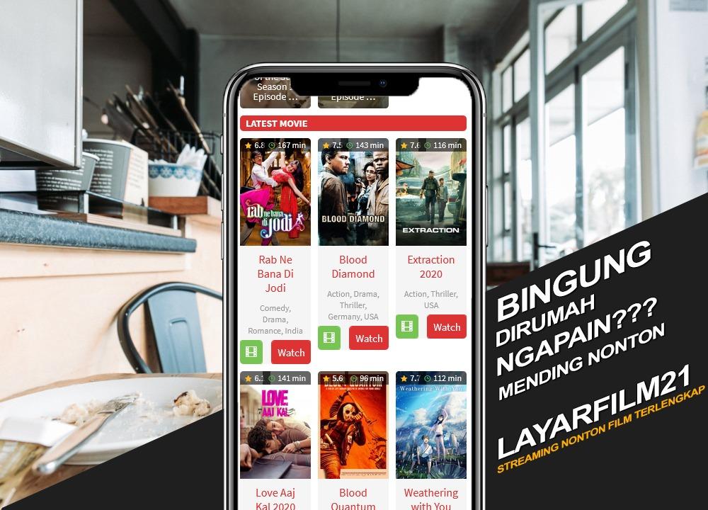 LayarFilm21 Tempat Download Film Gratis